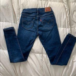 Levi's Jeans 710 Super Skinny - Size 25